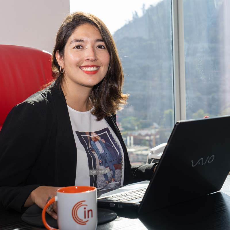 Carolina Reyes es la gerenta general de Internal